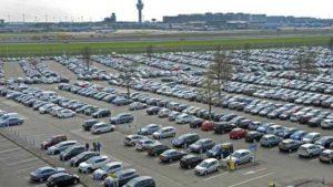 parkeren luchthaven